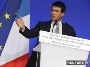 Francúzsky minister vnútra Manuel Valls. Autor: Reuters, PHILIPPE WOJAZER
