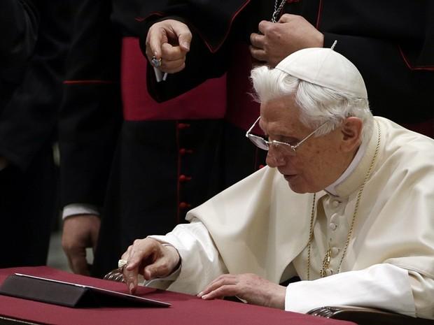 Emeritný pápež Benedikt XVI. Autor: SITA/AP